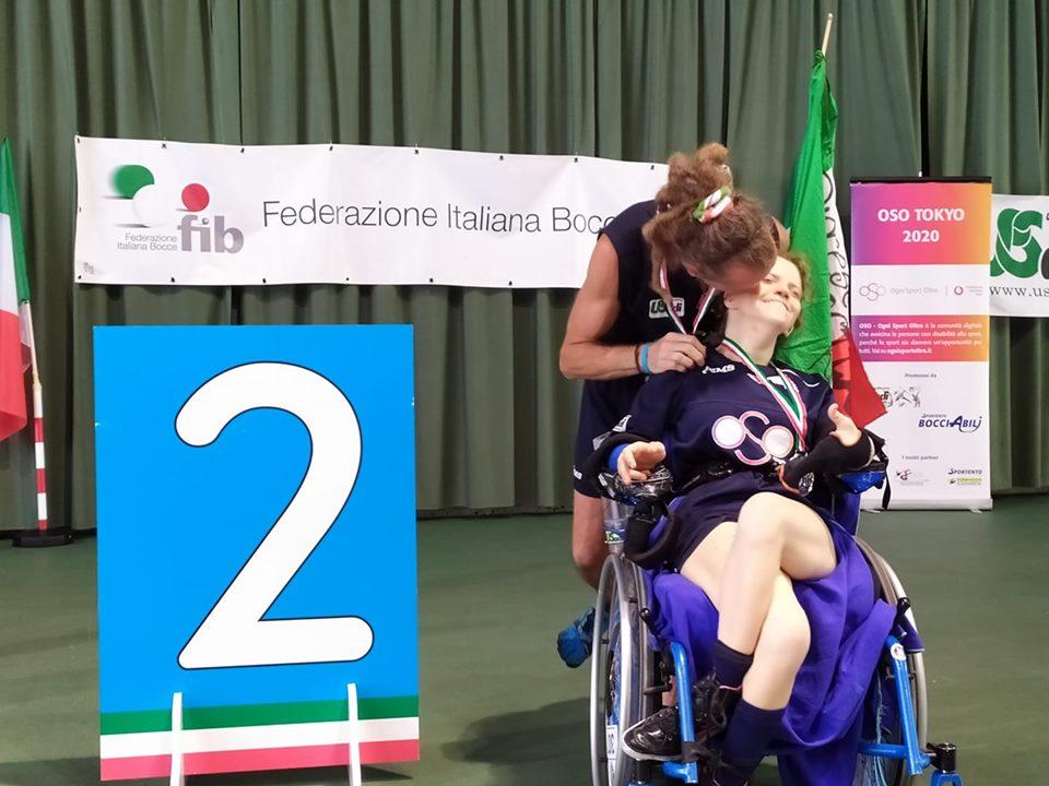 Boccia paralimpica Carlotta Visconti