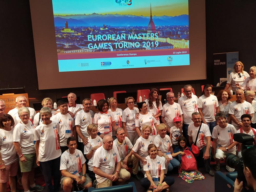 volontari european masters games