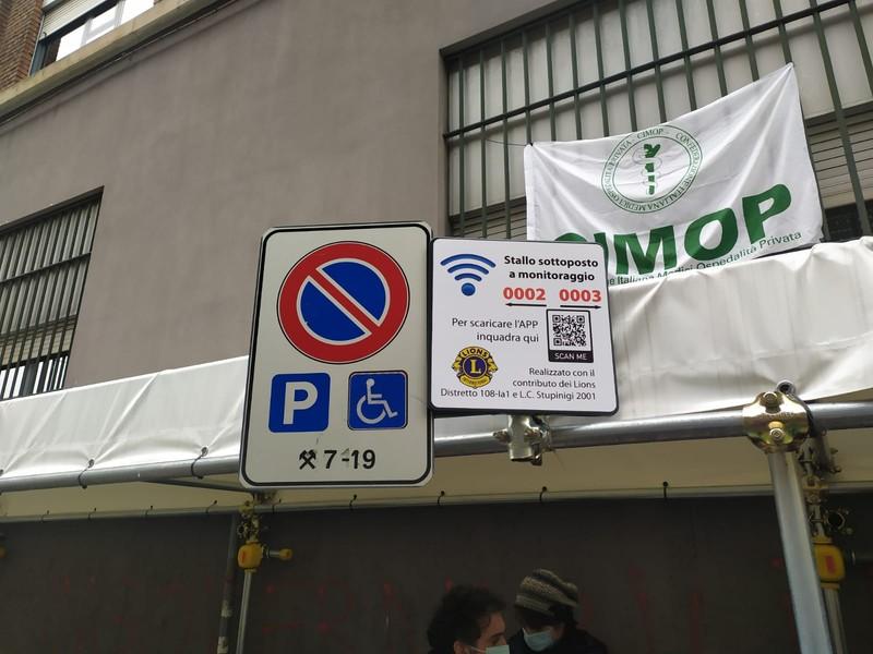 DEPS parcheggio disabili