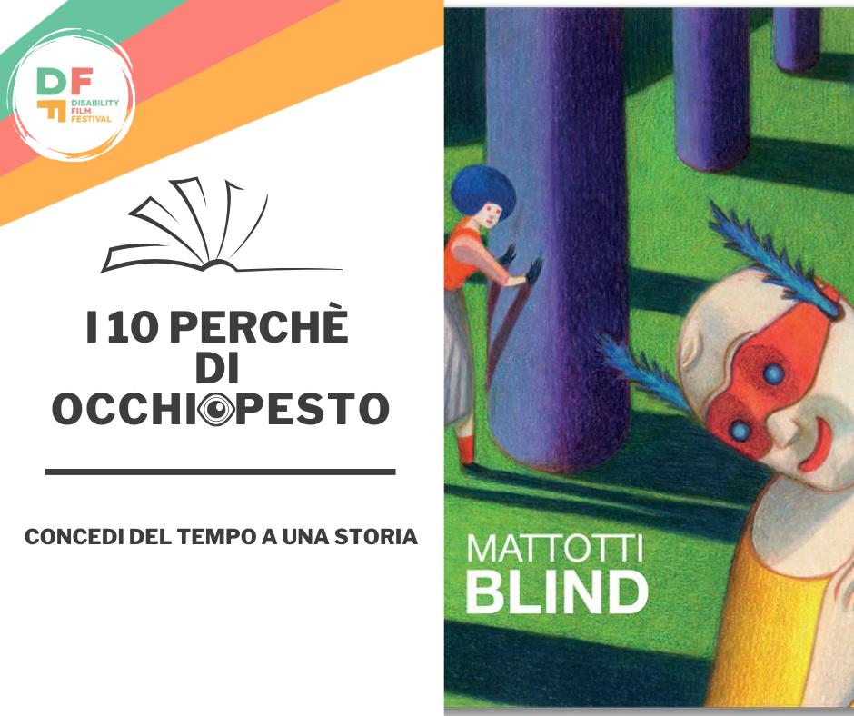 Blind libro di Lorenzo Mattotti